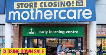 Mothercare slashes prices by 50% in closing down sale