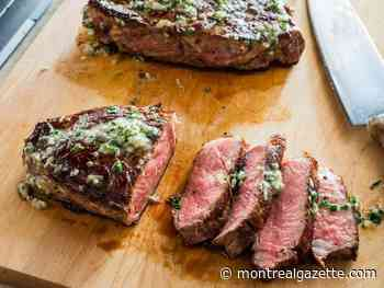 Six O'Clock Solution: Thick-cut Steaks with Herb Butter