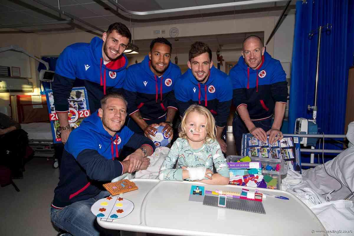 🎅 Royals spread festive cheer at Royal Berkshire Hospital