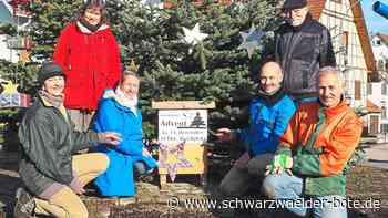 Nagold: Iselshauser Advent an der Kirche