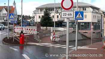 Schömberg: Bis Mittwoch weitgehend alles fertig