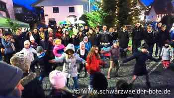 Neuweiler: Die wenigen Stände sind in Neuweiler gut umlagert
