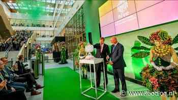 Koning opent Unilever faciliteit op WUR campus