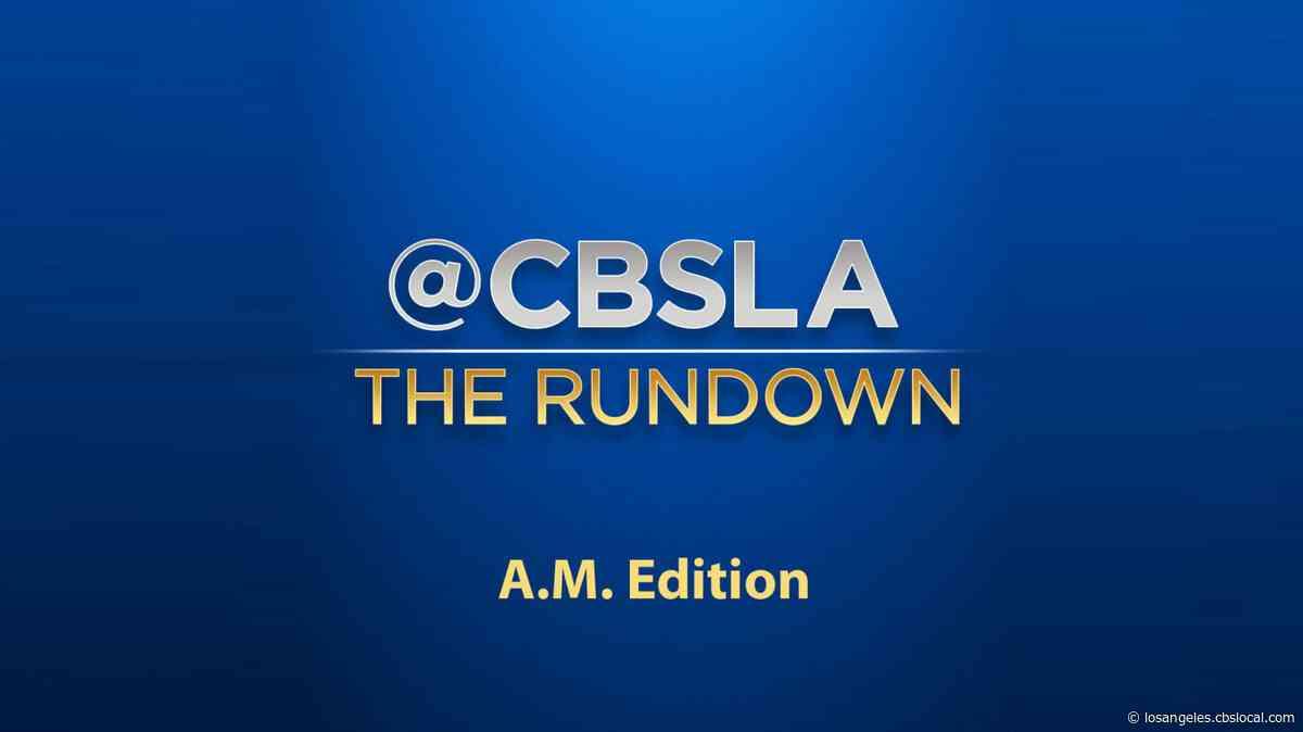 CBSLA The Rundown: 12/9 8am
