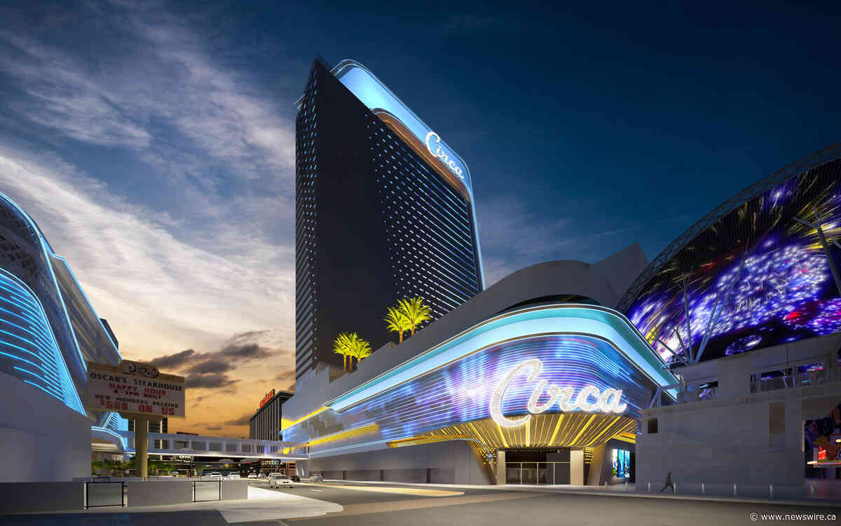 Construction For Vegas' Circa Resort & Casino Reaches Halfway Mark, Speeds Toward December 2020 Opening