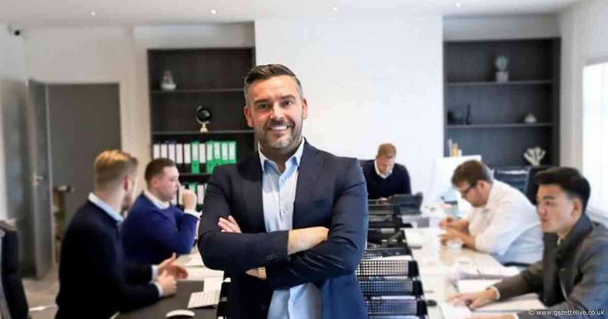The luxury Middlesbrough firm named one of the UK's top 30 fastest growing companies