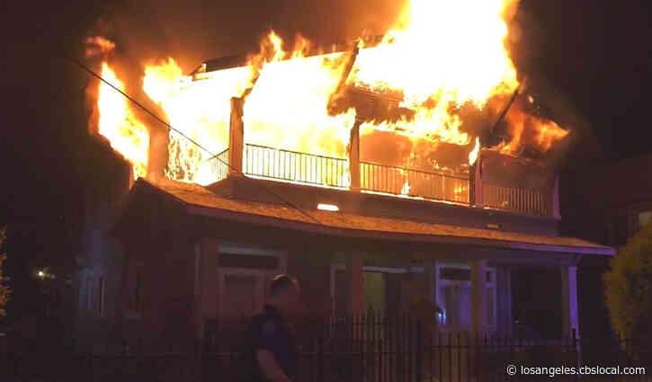 Man Suffers Critical Burn Injuries In San Bernardino Apartment Fire