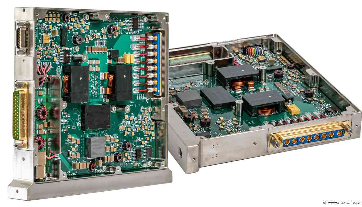 VPT's SGRB DC-DC Converter Earns Military & Aerospace Electronic Innovators Awards Highest Honor