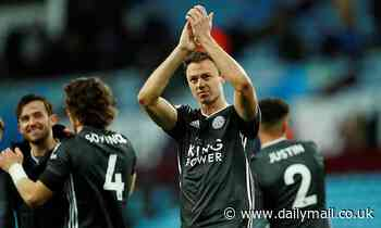 Jonny Evans says Leicester's 2-1 defeat to Liverpool inspired them to win their next eight games
