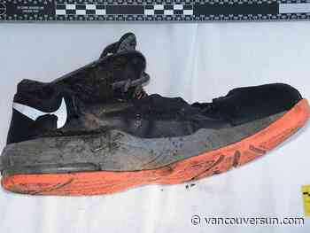 Can you identify the man who died wearing while these shoes?