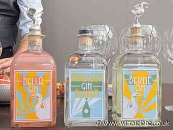 Wirral's Handmade Gin Company join forces with Royal Liver Building 360