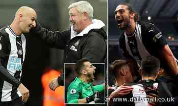 Steve Bruce has inspired an unlikely revival at Newcastle that sees the Toon 10th in the table
