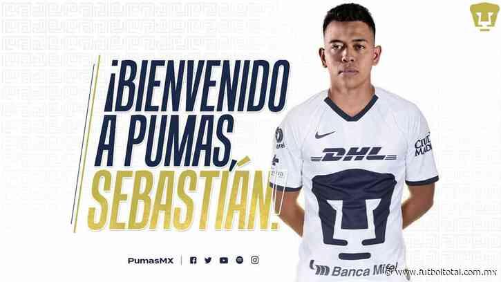OFICIAL: Pumas ficha a Sebastián Saucedo