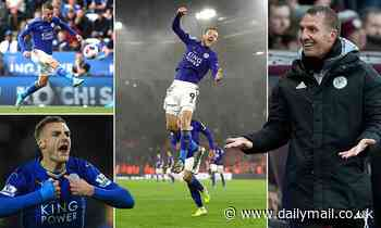 Leicester's Jamie Vardy is even MORE deadly this season under Brendan Rodgers