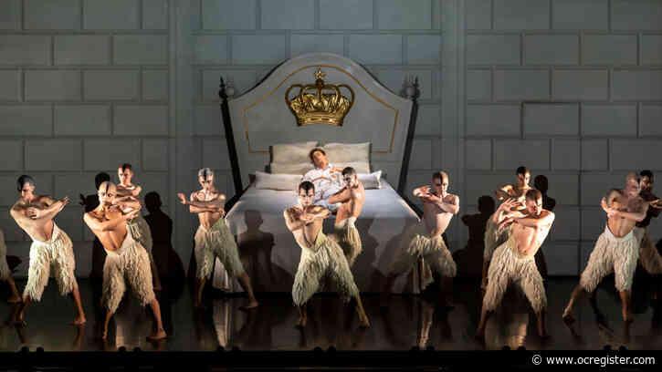 "Ballet review: 'Matthew Bourne's ""Swan Lake""' returns to stun again"