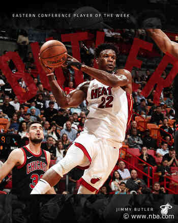 Butler Wins Eastern Conference Player Of The Week