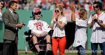 Pete Frates, Who Promoted the Ice Bucket Challenge, Dies at 34