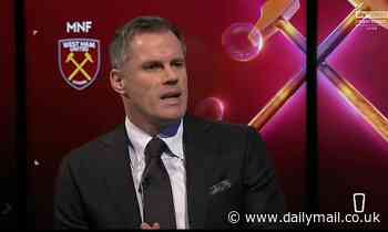 Jamie Carragher heaps praise on Manchester United after 'out of this world' derby win