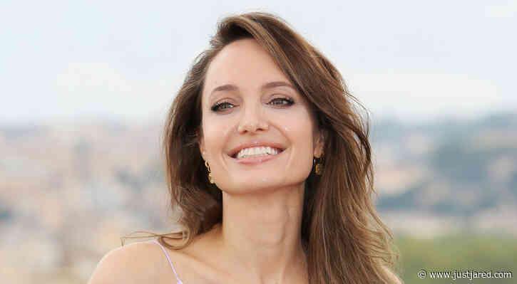 Angelina Jolie Meets 'Dear Evan Hansen' Cast Member That Has Tattoo of Her Face!