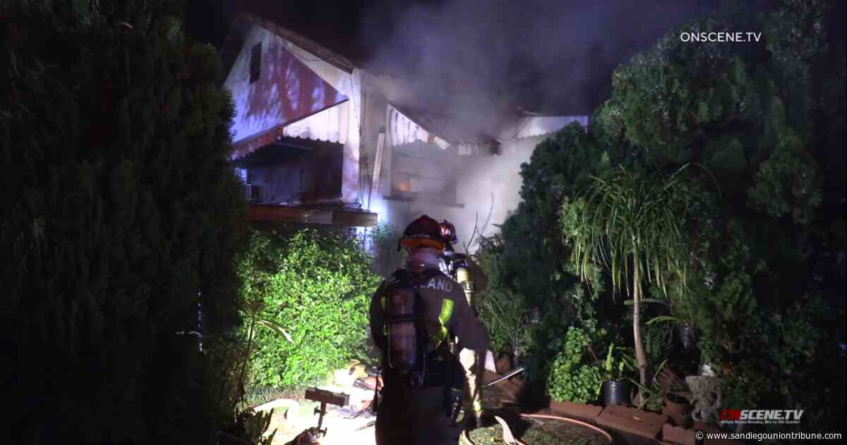 At least four dogs killed in fire at home, kennel in Lakeside