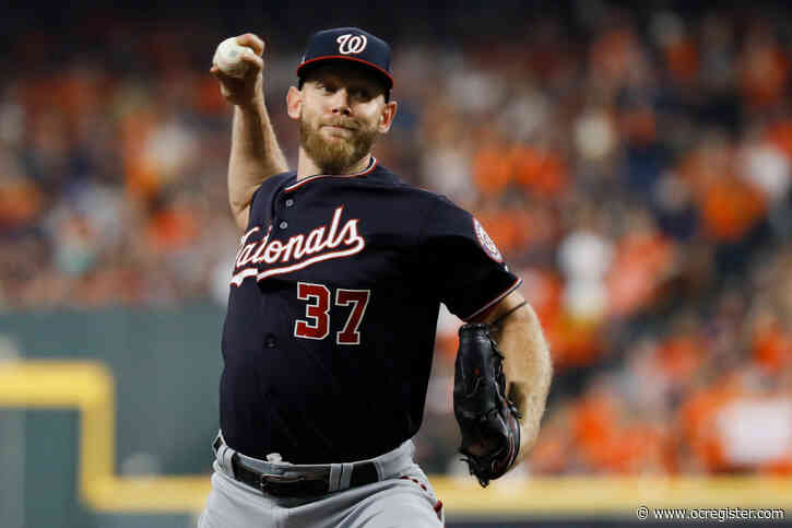 Reports: Stephen Strasburg to re-sign with Washington Nationals