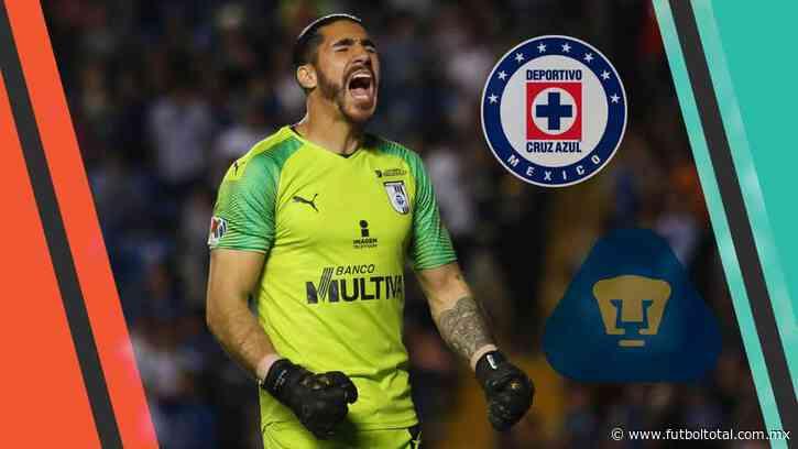 Gil Alcalá, entre Cruz Azul y Pumas