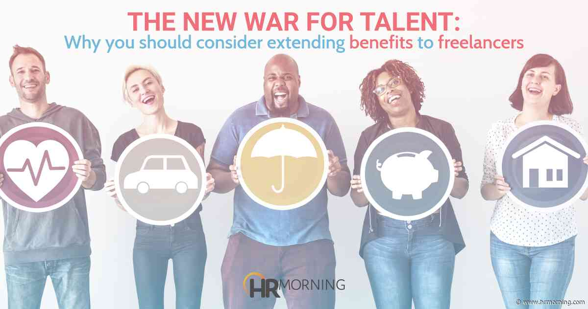 The new war for talent:  Why you should consider offering benefits to freelancers