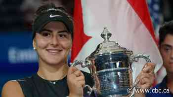Bianca Andreescu adds Lou Marsh Trophy as Canada's top athlete to U.S. Open, Rogers Cup titles