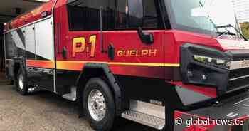 Guelph vehicle fire sends 1 to hospital with smoke inhalation
