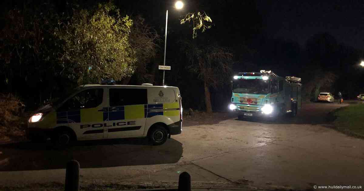 Police swarm Oak Road playing fields in search for missing person