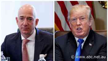 'Public and behind-the-scenes attacks': Amazon blames Trump for loss of $US10 billion contract