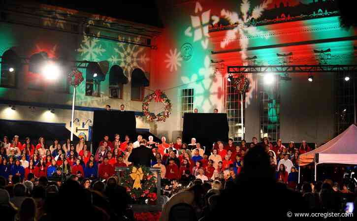 Old Towne Orange lights up with the holiday spirit