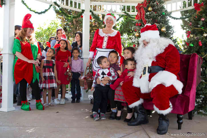 Curt Seeden: Santa and Mrs. Claus will stop by Fountain Valley gazebo Dec. 14