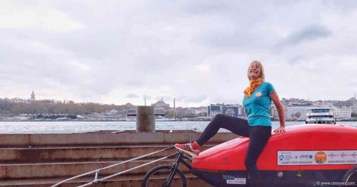 73-year-old woman is running from the U.K. to Nepal to raise money for charity