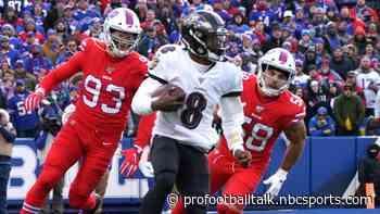 Lamar Jackson lands on Ravens injury report