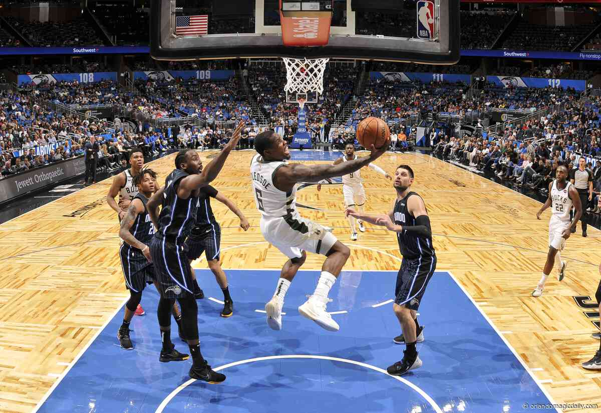 Orlando Magic at Milwaukee Bucks (Dec. 9, 2019): How To Watch, Odds and Prediction