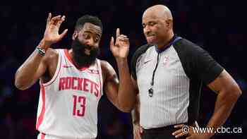 NBA admits error, but denies Rockets' protest from missed call on Harden dunk