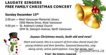 Free Family Christmas Concert