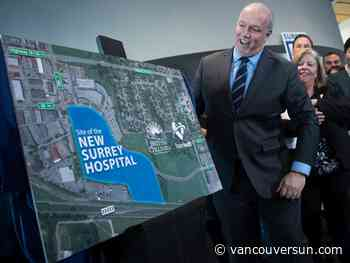 B.C. announces second hospital for fast-growing Surrey but construction years away