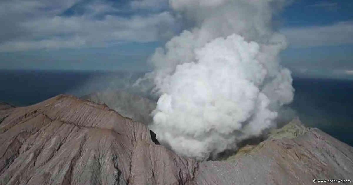 New Zealand volcano eruption leaves several dead