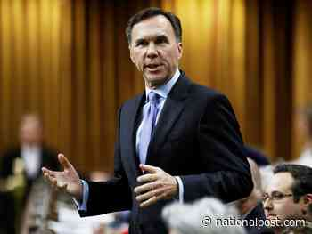 Bill Morneau prepared to talk to provincial finance ministers about 'equalization rebate'