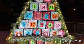 Ile-a-la-Crosse woman builds Advent calendar for entire northern village