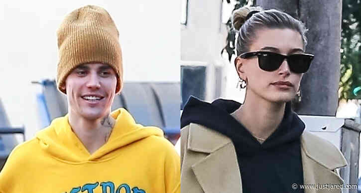 Justin & Hailey Bieber Step Out Separately in Los Angeles