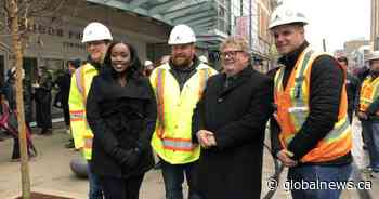 Final brick in ground: London city officials celebrate end to Dundas Place construction