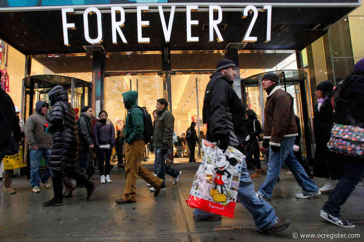 See the list of Forever 21 stores closing in Southern California