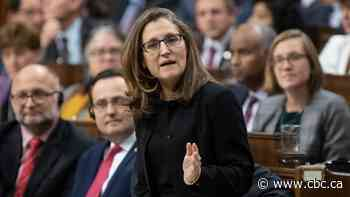 Freeland heads to Mexico to finalize NAFTA changes
