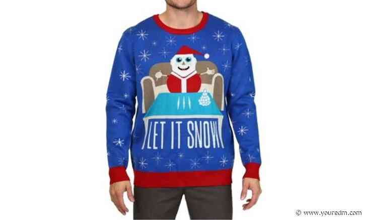 "Walmart Apologizes for ""Let It Snow"" Christmas Sweater"