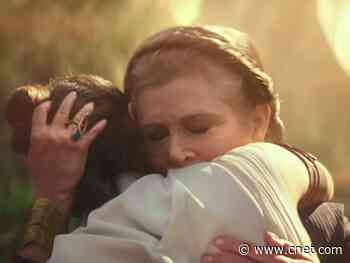 Star Wars: Rise of Skywalker's CGI-free Carrie Fisher is 'shockingly successful'     - CNET