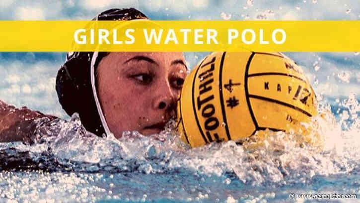 CIF-SS girls water polo rankings: Monday, Dec. 9