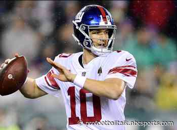 Eli Manning throws 363rd career touchdown to give Giants 7-0 lead